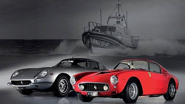 Le due Ferrari vendute.