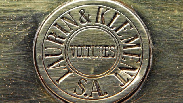 Il logo della Laurin & Klement.