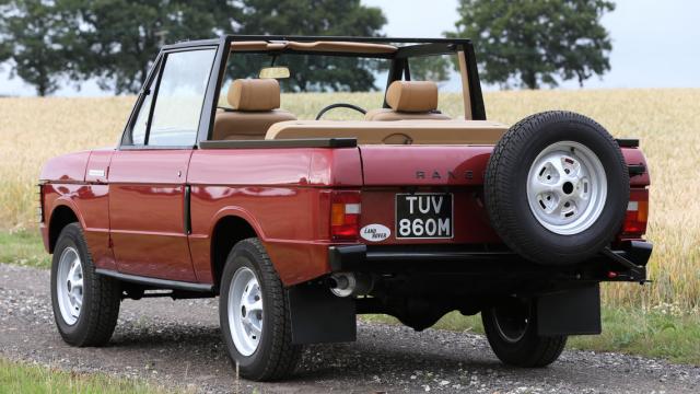 Range Rover Cabrio.