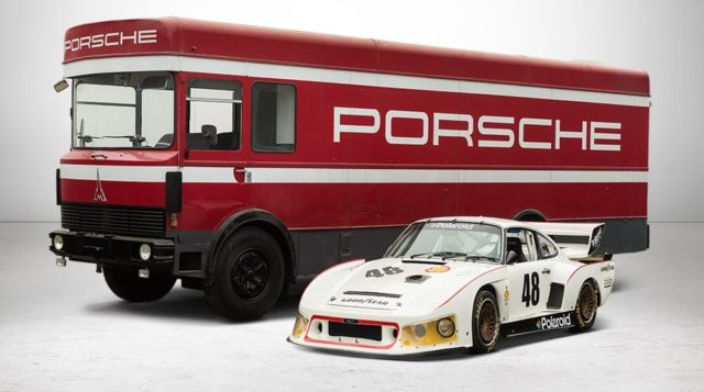 Porsche all'asta.