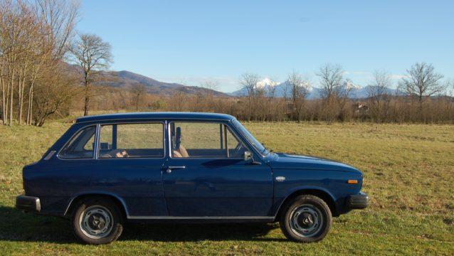 La Volvo 66 in campagna.