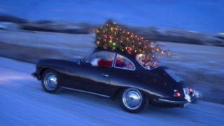 La Porsche di Babbo Natale.