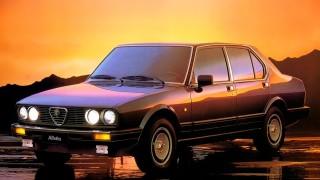 Alfa Romeo Alfetta 1983.