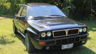 Lancia Delta Integrale blindata.