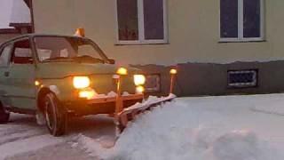 Fiat 126 spazzaneve.
