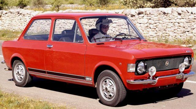 Fiat 128 Rally.