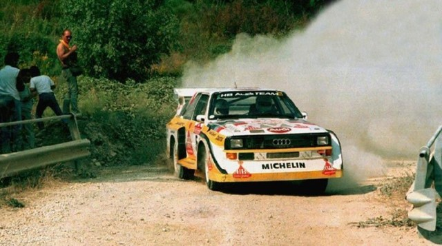 Audi Quattro S1.