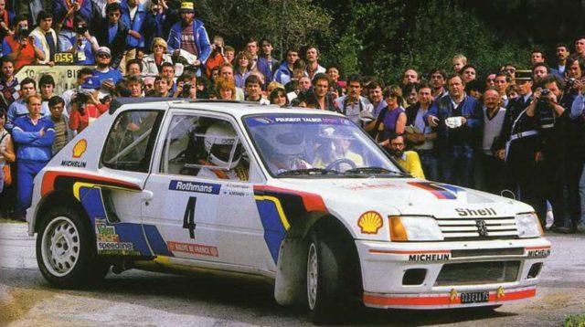 Peugeot 205 Turbo 16.