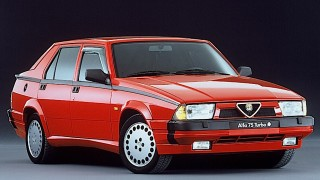 Alfa 75 Turbo, 1986.