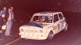 Fiat 127 slalom