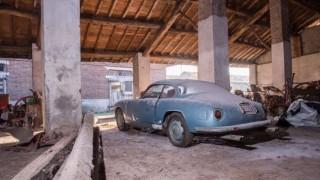 La Flaminia Sport Zagato abbandonata.