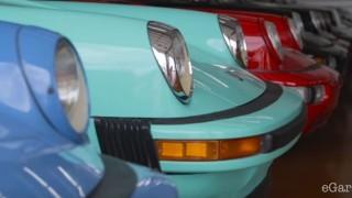 La collezione di Porsche.
