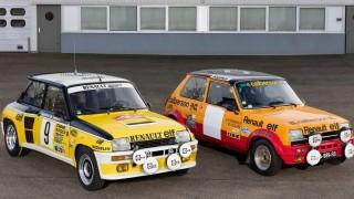 Le Renault 5 al Rally di Montecarlo.