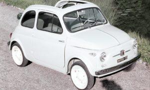 Una Fiat 500 del 1957. Il club sarà presente ad Automotoretrò 2016.