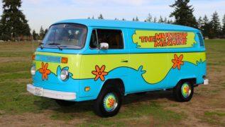 Il furgone Volkswagen di Scooby Doo.