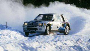 La Peugeot 205 Turbo 16 di Ari Vatanen.