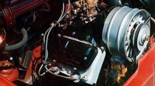 Il motore V4 della ZAZ 968.