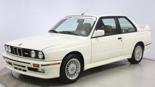 La BMW M3 del 1991. (ph