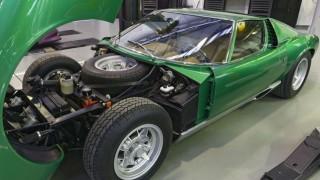 La prima Lamborghini Miura SV.
