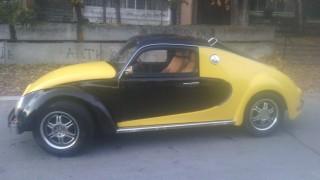 Un po' Maggiolino, un po' Bugatti Veyron.