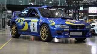 La Subaru Impreza di Colin McRae.