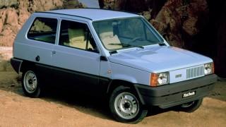 La Fiat Panda è stata lanciata nel 1980.