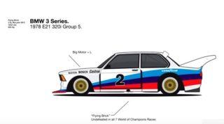 Evoluzione della BMW Serie 3.