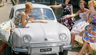 Alfa Romeo Dauphine.