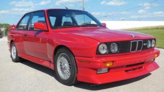Una BMW M3 del 1988.
