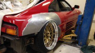 Il dettaglio della ruota.
