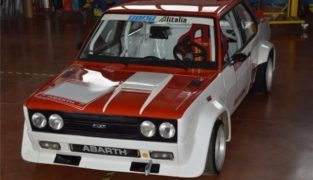 Fiat 131 Abarth Rally.