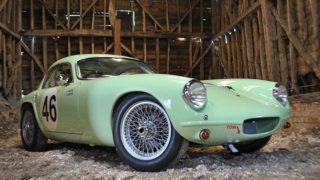 La prima Lotus Elite.