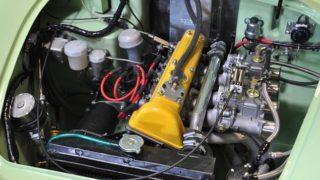 Il motore della Lotus Elite.
