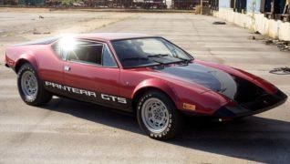 De Tomaso Pantera GTS America.