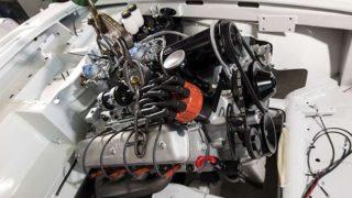 Il motore della BMW 507.