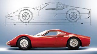 Ferrari Dino Prototipo.