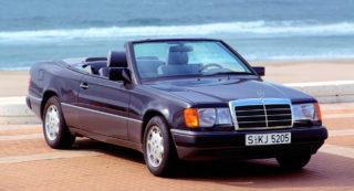 Mercedes Classe E Cabriolet.