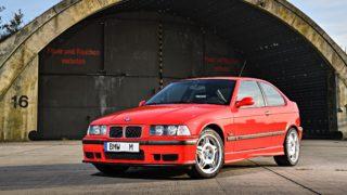 Il prototipo BMW M3 Compact