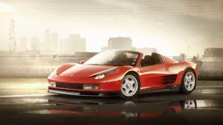 Il mix tra Ferrari 458 e Testarossa.