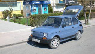 La Fiat 126 elettrica costruita in Turchia da Murat