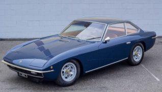 Lamborghini Islero del 1969, la più elegante e sobria della collezione.