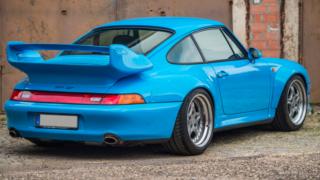 L'alettone della Porsche 911 GT2.