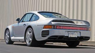 La Porsche 959 Komfort al momento della sua vendita era l'auto di serie più veloce del mondo.