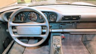 L'abitacolo della Porsche 959 Komfort poteva contenere quattro persone.