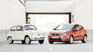 La Seat 600 e la Ibiza.