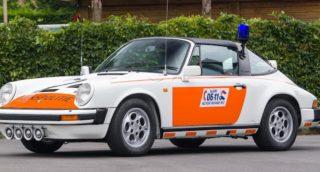 Questa Porsche 911 è stata utilizzata dalla polizia olandese tra il 1989 e il 1991.