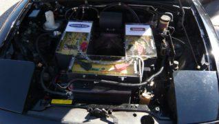 Il motore della Mazda MX-5 è stato sostituito con un propulsore elettrico.