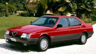 La storia della Alfa Romeo 164, la prima ammiraglia del Biscione a trazione anteriore.
