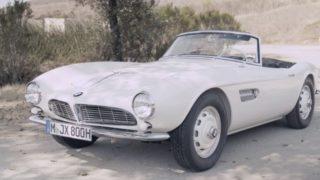 La BMW 507 di Elvis Presley è stata restaurata ed è tornata a circolare, come nuova.