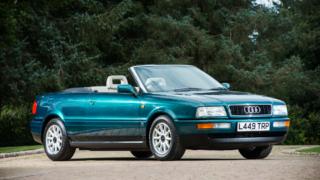 Questa Audi Cabriolet è stata l'automobile di Lady Diana.